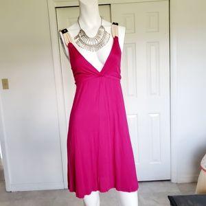 Lush hot pink dress sz. Small
